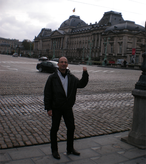 Michael in Brussels